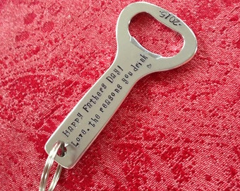 bottle opener keychain etsy. Black Bedroom Furniture Sets. Home Design Ideas