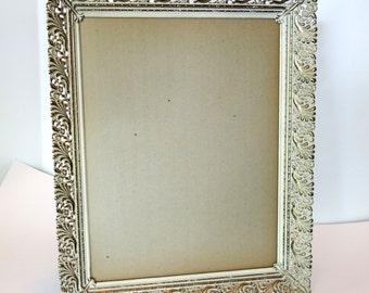 Vintage Large Gold Hollywood Regency Filigree Frame