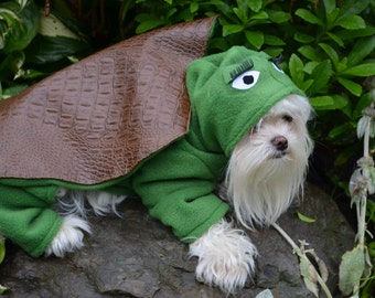 Custom made to order Turtle Dog Costume for Halloween, Parades or just plain fun!