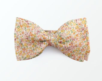 Liberty London Style Bow Tie, Floral  Bowtie Gift for Women Gift for Men/ READY TO SHIP