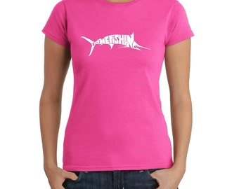 Women's T-shirt - Marlin - Gone Fishing
