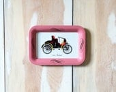 Small Vintage Tray - Trinket Dish - Bedside Decor - Packard