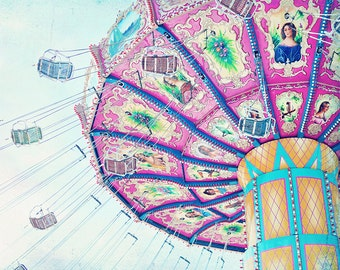 Carnival Ride 16x20 DIGITAL Print