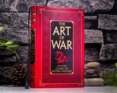 Hollow Book Safe and Hip Flask – The Art of War and other classics of eastern thought (LEATHER -BOUND) by Sun Tzu