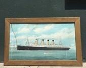 Enchanting Lusitania Advertisement Print