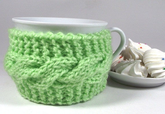 KNITTING COZY Cup PATTERN Cozy Tea Cup Lazy Morning cozy mug