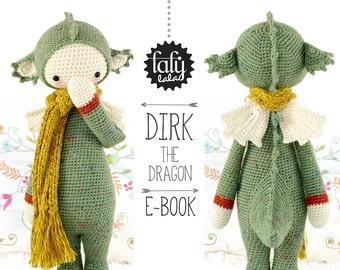 DIRK le dragon • lalylala patron au crochet / amigurumi
