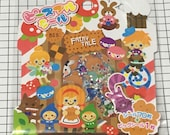 Mind wave stickers - 71 pieces/pack - Japanese stickers, Kawaii sticker, Schedule stickers, Scrapbooking supplies Fairy tale story mw 72550