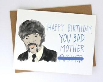 Pulp Fiction // Bad Mother F**ker Card