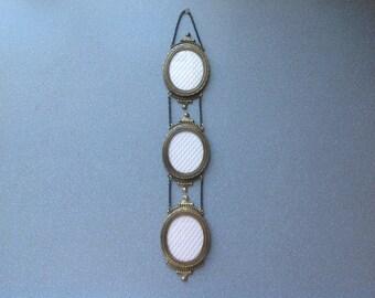 Vintage danish photo frame wall handing