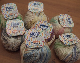 Adriafil Fiore cotton yarn - made in Italy - only 3.99 USD