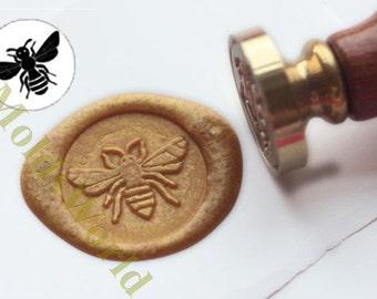 S1236 Bee Wax Seal Stamp , Sealing wax stamp, wax stamp, sealing stamp