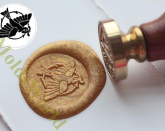 S1247 Bird Wax Seal Stamp , Sealing wax stamp, wax stamp, sealing stamp