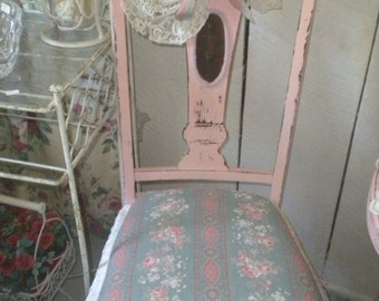 OOAK Chic Pink Chair, Shabby Chic, Cottage Chic, French Country, Baby's room