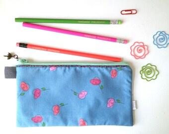 Roses Pencil Case (exclusive fabric)