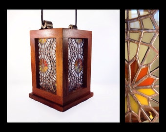 Luz del Sol - Stained Glass Lantern