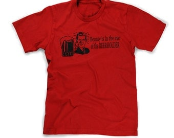 beer drinkers t-shirt mens beerholder shirt guys tee alcohol party shots happy hour t shirt s m l xl 2x 3x 4x alcoholic buzz wisconsin