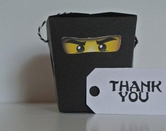 Ninjago - thank you tags
