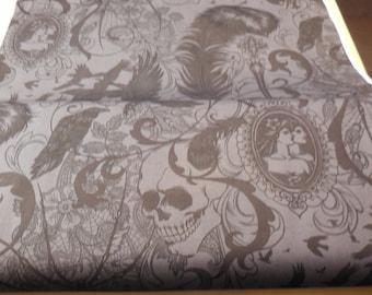 Smoke Colored After Dark Nicole's Prints - Alexander Henry Fabric 1 Yard