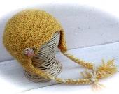 Toddler Girl Hat, Baby Girl Hat, Crochet Baby Hat, Photo Prop
