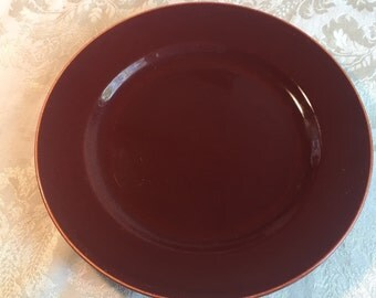 Franciscan Ware Gladding McBean Redwood Glaze El Patio Luncheon Plate Vintage China