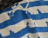 Cat Rayon Fabric Cloth 1/2 yard MJ144