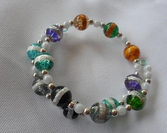 Ring Around the Beads Bracelet