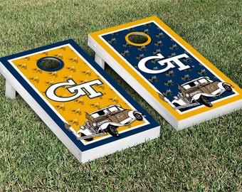 San Jose State Spartans Triangle Cornhole Boards By