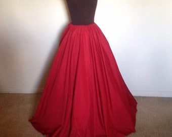 Just the Skirt!!! Renaissance Civil War, Cosplay, Fantasy Goth many colors many SiZes!