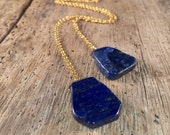 Lapis Lazuli ZEN Wrap®  Necklace - Peace & Serenity - 5th chakra