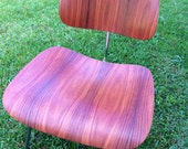 Original Eames Rosewood DCM chair, Herman Miller. Mid century modern. FREE SHIPPING