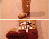 """Toy Story """"Woody"""" Inspired Boot Shot Glass"""