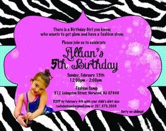 Sweet & Sassy Birthday Invitation