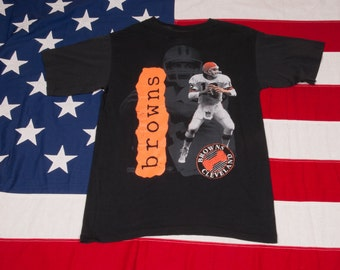 Cleveland BROWNS Football T-Shirt Size M