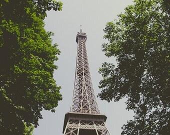 Daylight Eiffel Tower Art Photograph