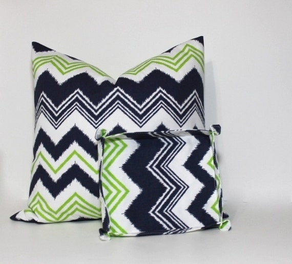 2 pc set navy lime green home decor set decorative for Lime green home decorations