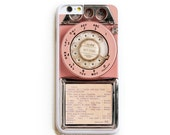 iPhone 6 Case. iPhone 6 Cases. Vintage Pink Payphone. Phone Case. iPhone Case. Phone Cases. Case for iPhone 6.