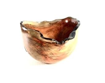 Wood Bowl No.150504- Natural Edge Guacamayo