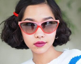 Vintage Designer Sunglasses By Colourline Hand Made In France 1990's