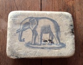 "Early 1900s E.G. Soltmann ""Jumbo"" Pliable Rubber Eraser Elephant"