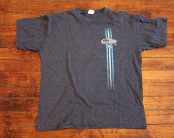 vintage toronto maple leafs shirt NHL hockey tshirt horizontal striped tshirt size Large