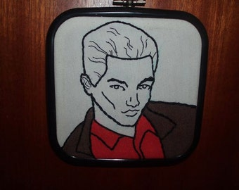 Spike embroidery hoop Buffy the Vampire Slayer