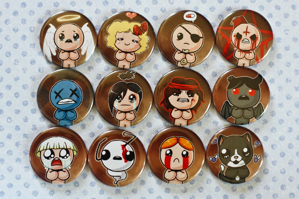 how to make characters for binding of isaac rebirth