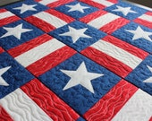 EMBROIDERY PATTERN 100 mm in-the-hoop quilt blocks - americana for 100 mm hoop
