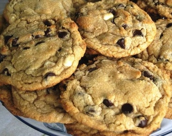 Gluten Free Chocolate Chip Cookies 2 Dozen Baked Fresh only when ordered