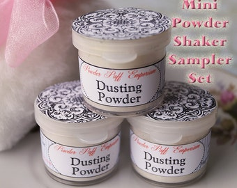 MINI Powder Shakers Sampler Set (3 little shakers)