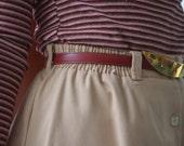 Women's Vintage Belt, Size Small, Calderon Belt, Red Leather Belt, Vintage Ladies' Belt