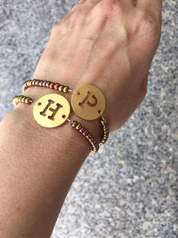 Kelly Bracelet, Initial Bracelet, personalized bracelet, wedding, bracelets, Aunt gift, Sister gift