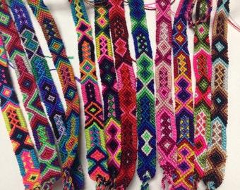 WHOLESALE -Lot of 25 Friendship Bracelets (Various Sizes)