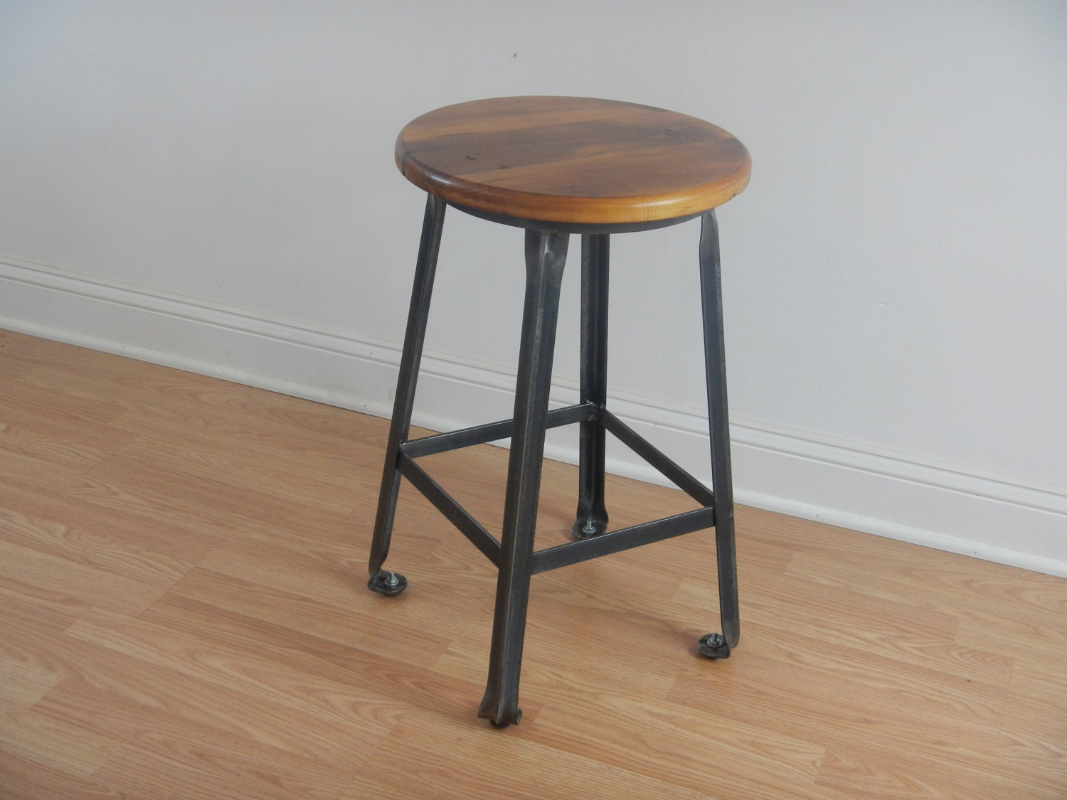 Industrial Style Counter Stool Bar Stool Kitchen Stool